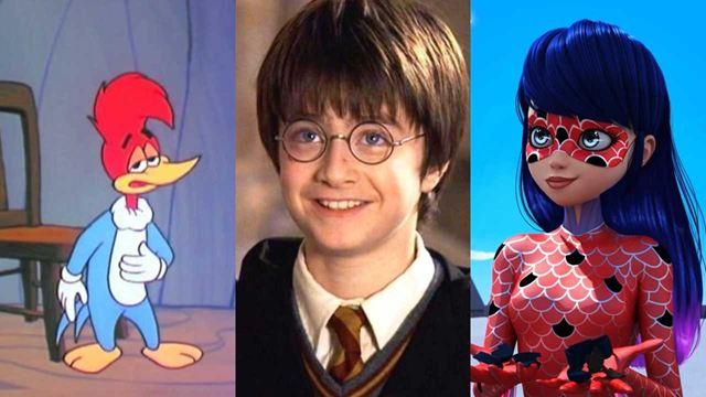 Os personagens infantis da TV mais populares entre as crianças