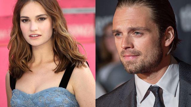 Lily James e Sebastian Stan serão estrelas da série biográfica de Pamela Anderson