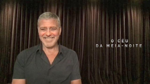 O Céu da Meia-Noite: George Clooney e elenco comparam quarentena do filme com a de 2020 (Entrevista)
