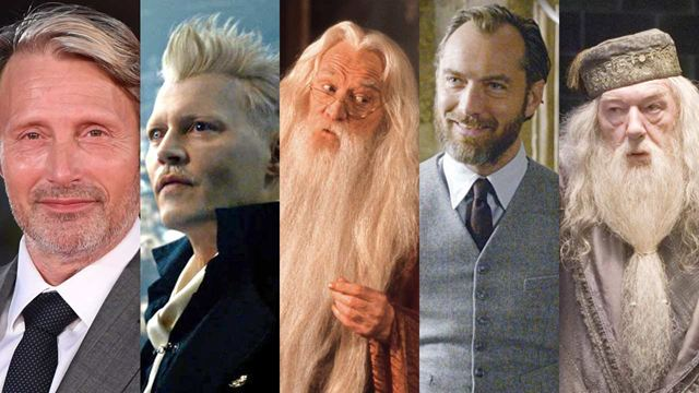 Harry Potter: Grindelwald e outros personagens interpretados por mais de um ator