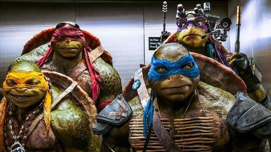 Filmes na TV: Hoje tem As Tartarugas Ninja - Fora das Sombras e Tróia