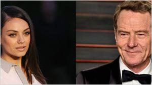 Bryan Cranston e Mila Kunis vão estrelar nova comédia do diretor de Amizade Colorida