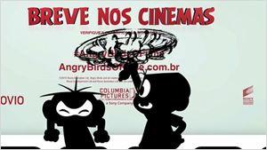 Flagra: Mônica e Cebolinha brigam em sessão de Angry Birds - O Filme