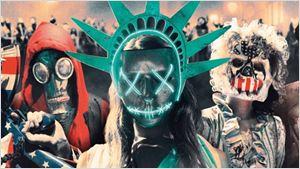 12 Horas Para Sobreviver - O Ano da Eleição, filme da franquia de terror Uma Noite de Crime, ganha novos cartazes