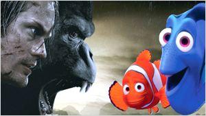 Bilheterias Estados Unidos: A Lenda de Tarzan chega perto do topo, mas Procurando Dory é lider pela terceira vez