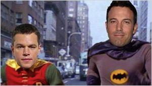 Matt Damon aceitaria papel de super-herói sob direção de Ben Affleck