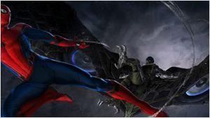 Comic-Con 2016: Homem-Aranha combate o Abutre em sombria arte conceitual