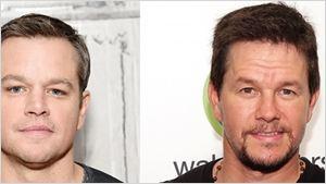 Mark Wahlberg revela que aceita e agradece elogios de pessoas que o confundem com Matt Damon