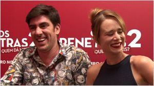 Os Penetras 2: Marcelo Adnet e Mariana Ximenes explicam a diferença entre humor no cinema e humor na TV