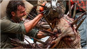 The Walking Dead: Andrew Lincoln e Pollyanna McIntosh comentam a luta na arena e relação entre Rick e Jadis