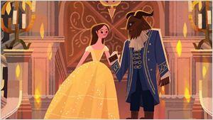 Artistas homenageiam A Bela e a Fera a convite da Disney, veja as imagens