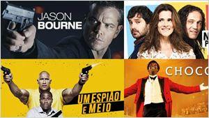 Telecine On Demand: Confira agora Procurando Dory, Um Espião e Meio, Jason Bourne e outros filmes
