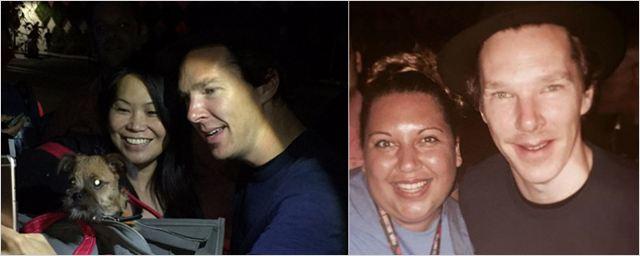 Comic-Con 2016: Benedict Cumberbatch aparece na fila para tirar fotos com os fãs