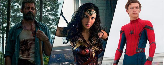 Calendário de filmes de super-heróis