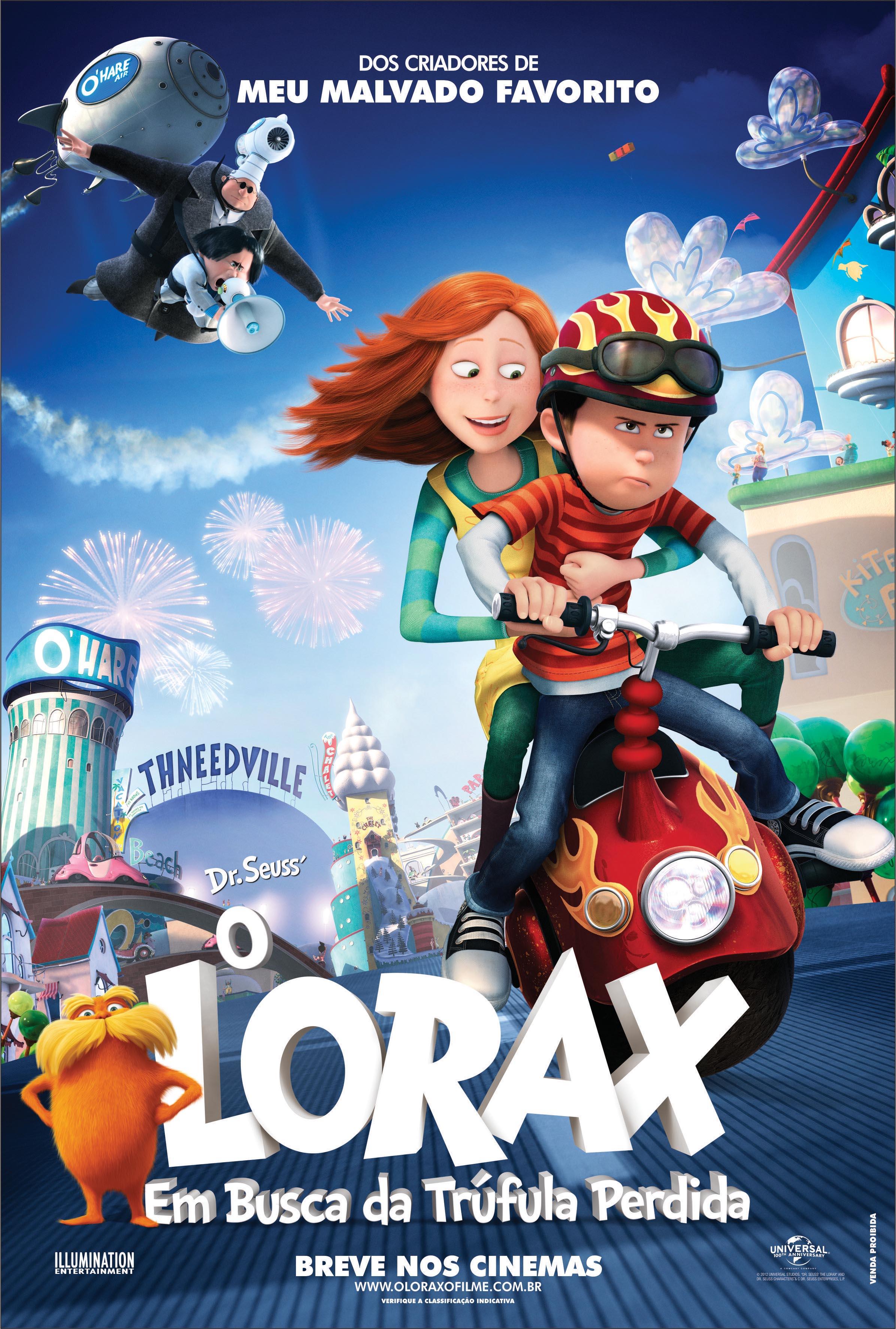 O Lorax Em Busca Da Trufula Perdida Filme 2012 Adorocinema