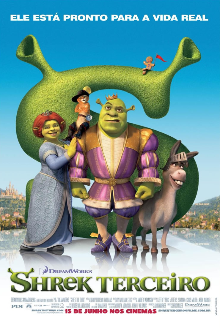 Shrek Terceiro Filme 2007 Adorocinema