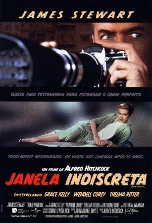 Resultado de imagem para Janela Indiscreta (1958 – EUA) filme