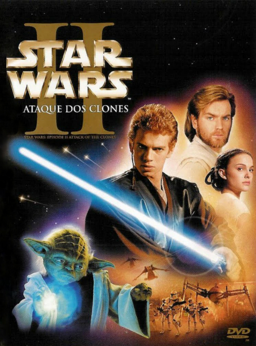 Resultado de imagem para Stars Wars - Episódio II - Ataque dos Clones