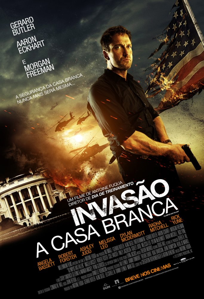 Invas 227 O A Casa Branca Filme 2013 Adorocinema