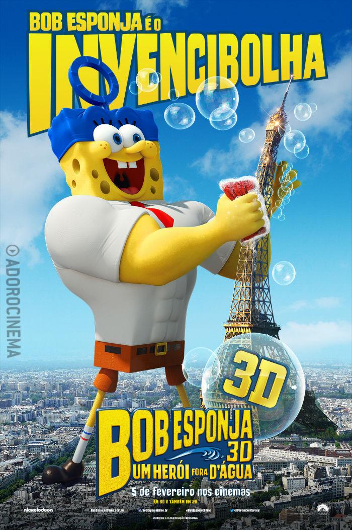 Filme Bob Esponja – Um Herói Fora D'Água Dublado – 2015