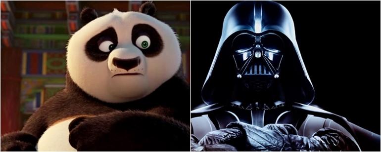 Kung Fu Panda 3 Novo Vídeo Parodia Cena Clássica De Star Wars