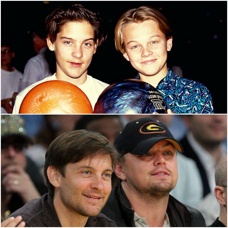 05. Leonardo DiCaprio e Tobey Maguire Tobey Maguire