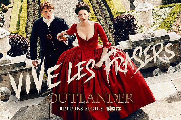 Resultado de imagem para outlander 2 temporada poster
