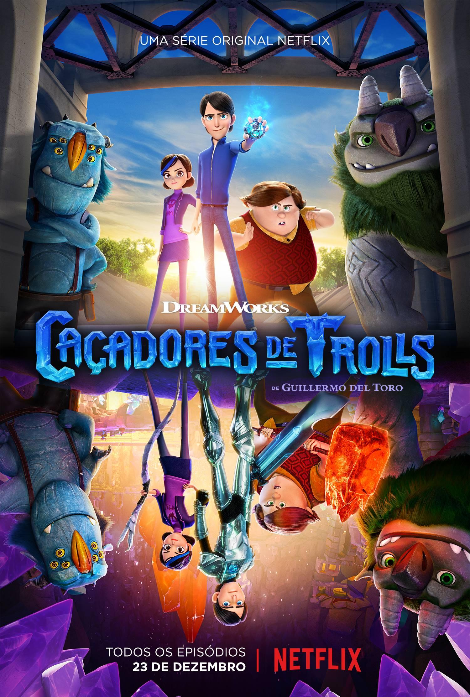 Resultado de imagem para Série Caçadores de Trolls estreia na Netflix