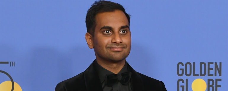 Aziz ansari acusado de assdio sexual e se manifesta notcias de getty images stopboris Choice Image