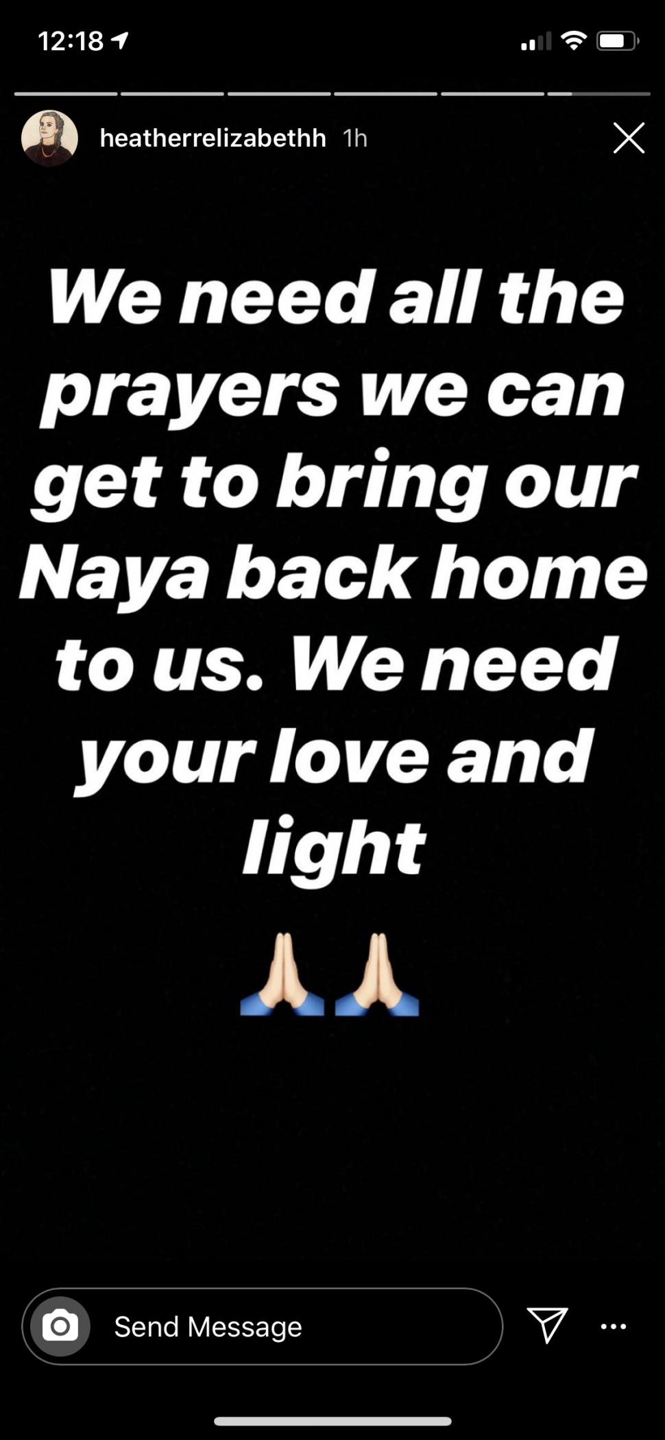 Naya Rivera, de Glee, desaparece após passeio de barco com o filho