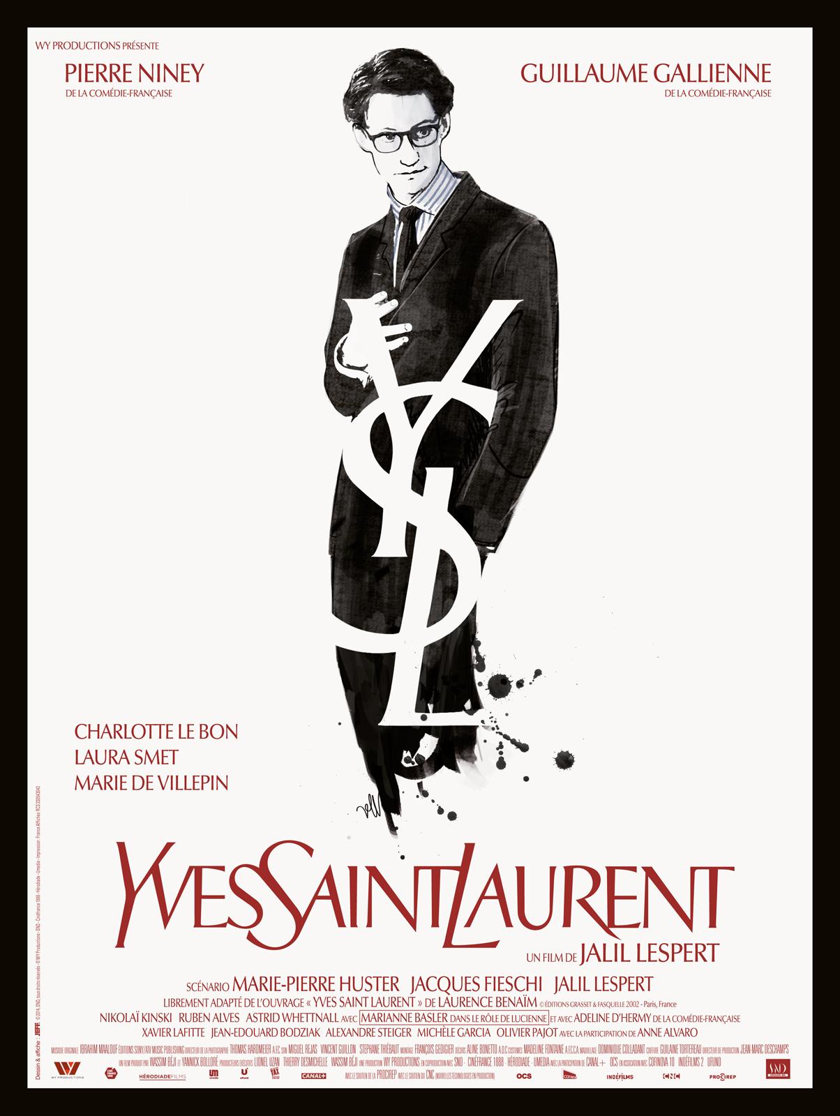 Resultado de imagem para yves saint laurent filme poster