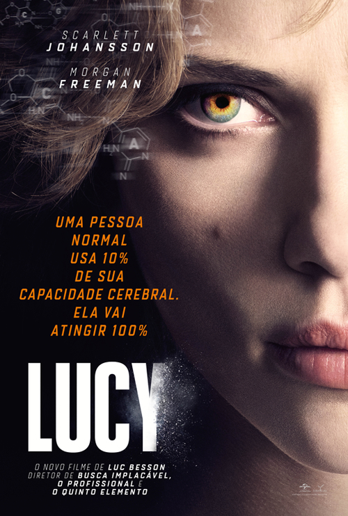 Lucy Torrent Download BluRay 4K 2160p 5.1 Dublado / Dual Áudio (2014)