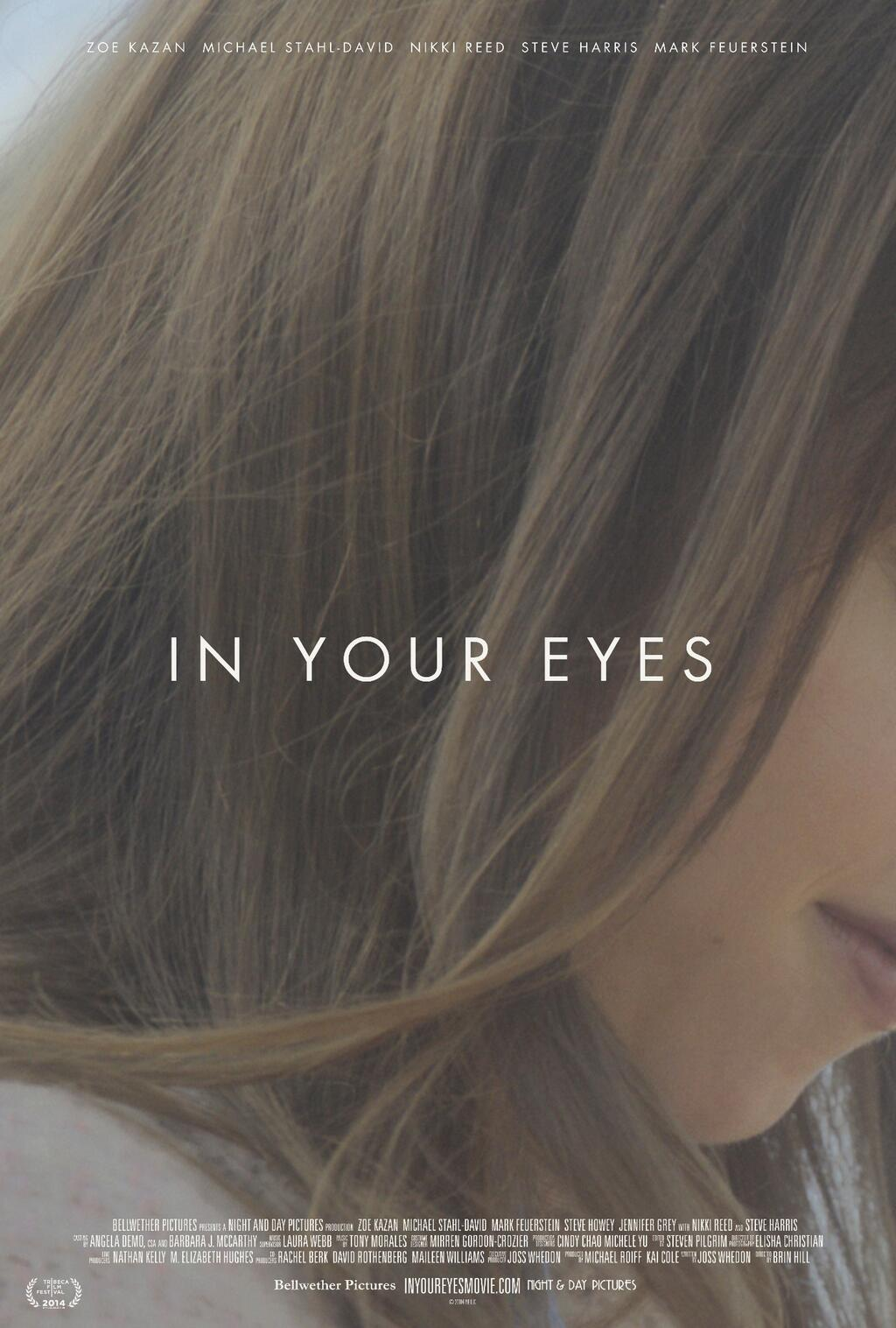 Resultado de imagem para in your eyes filme