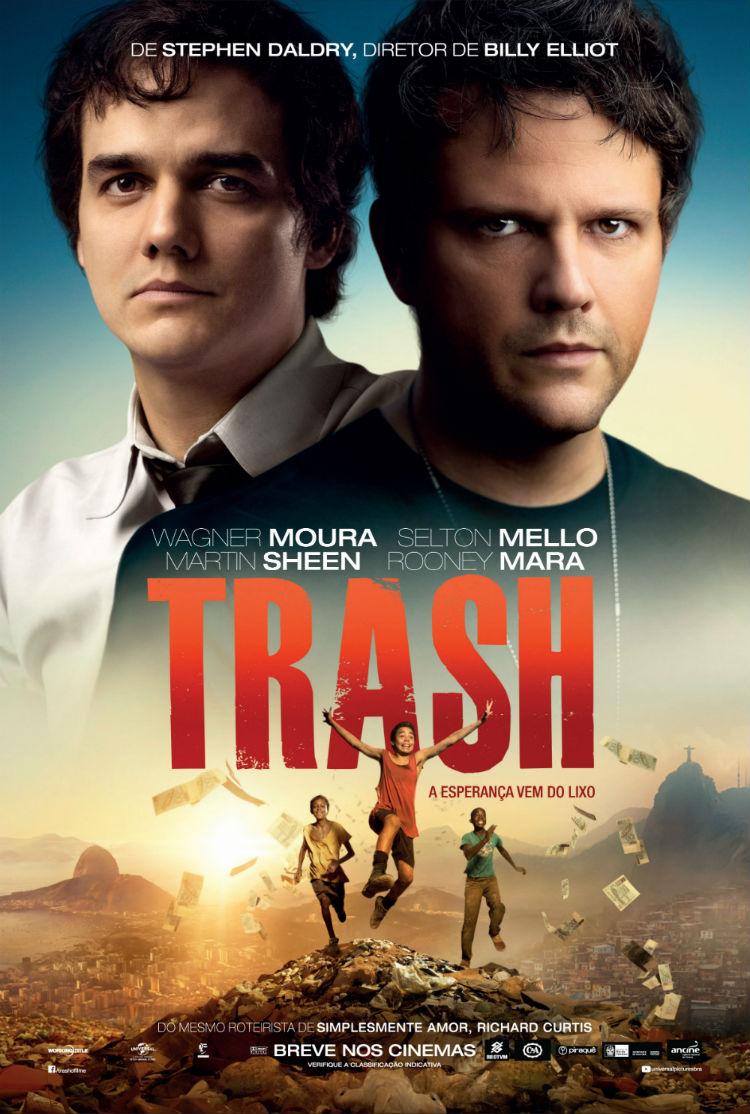 Resultado de imagem para Trash - A Esperança Vem do Lixo