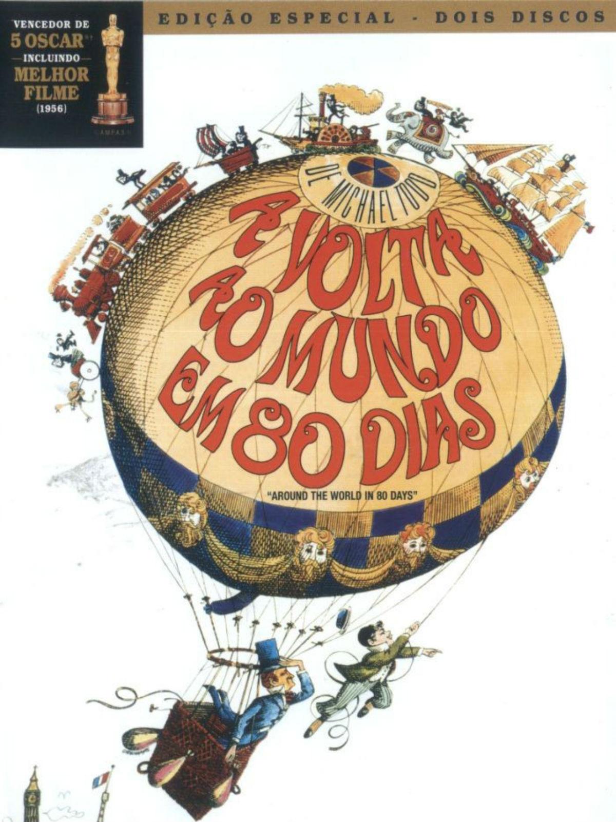 A Volta Ao Mundo Em 80 Dias Filme 1956 Adorocinema
