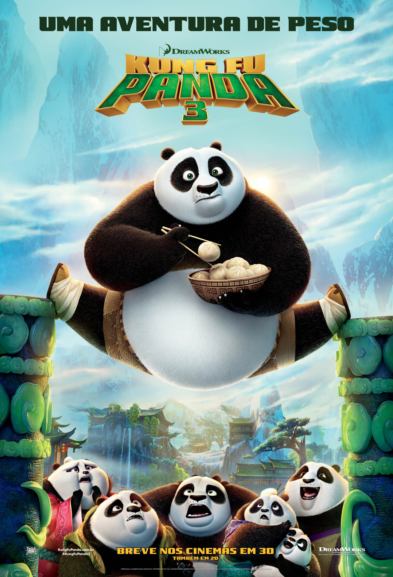 Kung Fu Panda 3 Filme 2016 Adorocinema