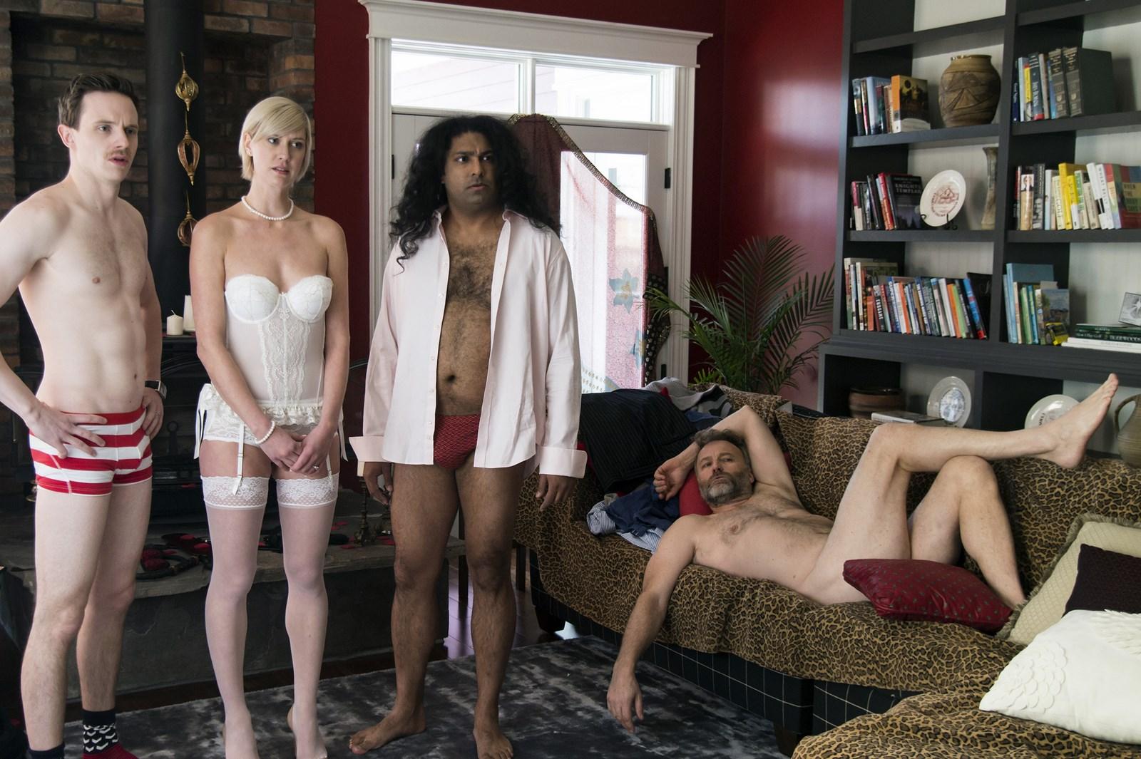 Fat lesbians naked