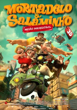 Mortadelo E Salaminho 3d Missao Inacreditavel Filme 2014 Adorocinema