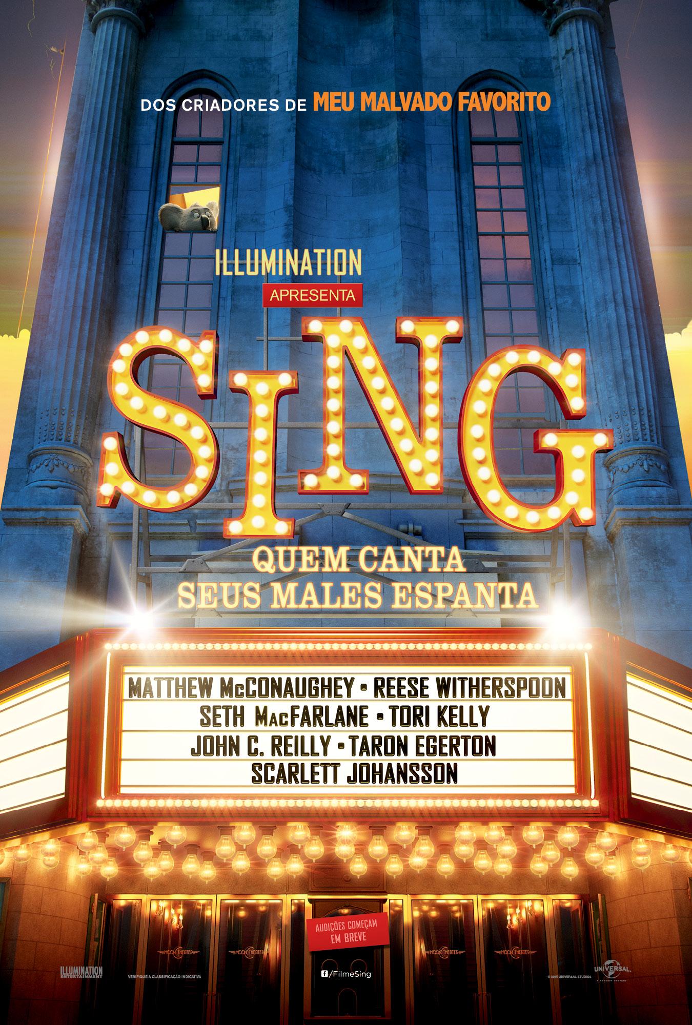 Capa do filme Sing