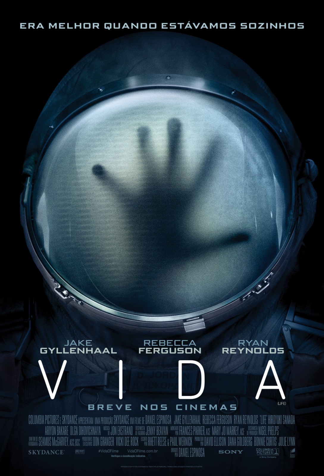 Resultado de imagem para Poster Filme Vida 2017