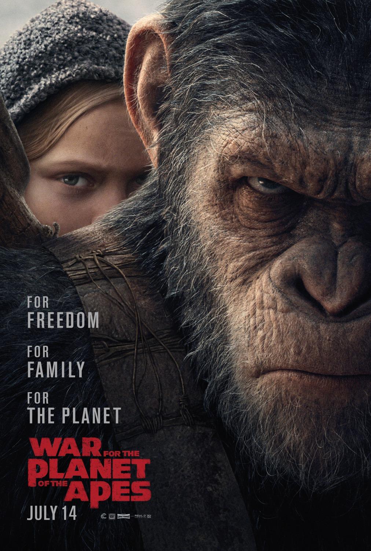 Capa Planeta dos Macacos 3 Torrent 720p 1080p 4k Dublado Baixar
