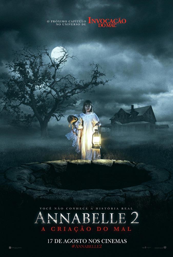 Resultado de imagem para Annabelle 2: A Criação do Mal, poster