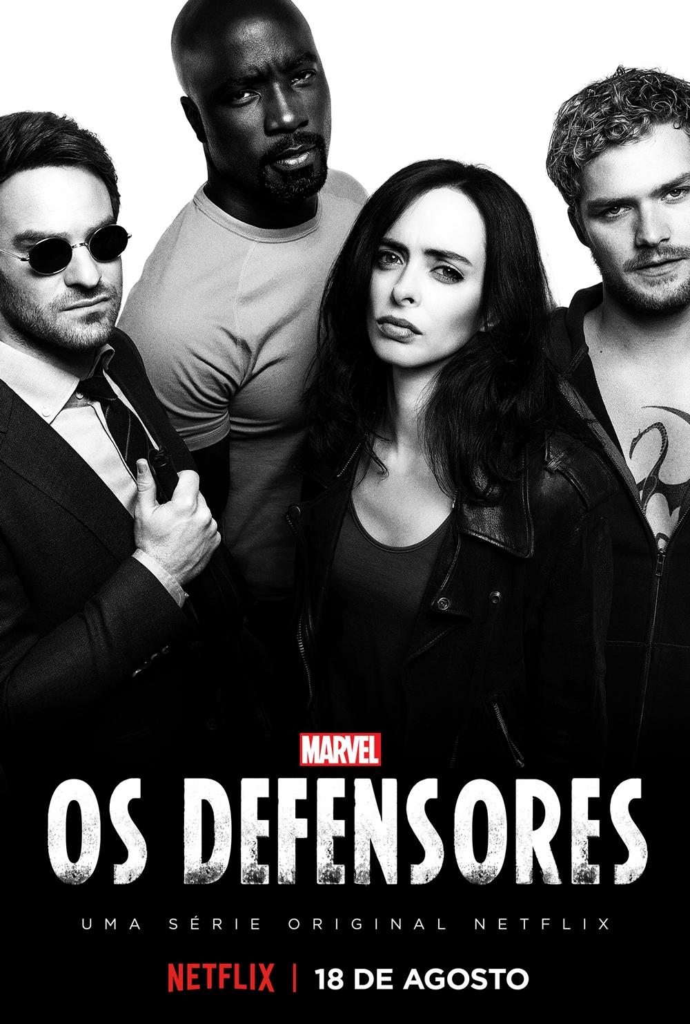 Os Defensores Dublado