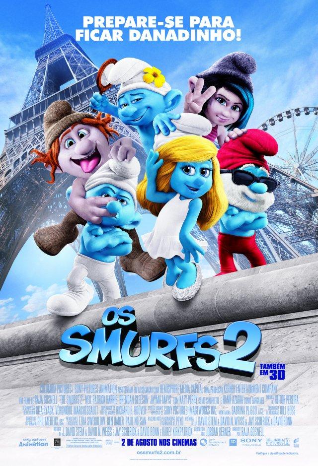 Resultado de imagem para os smurfs 2