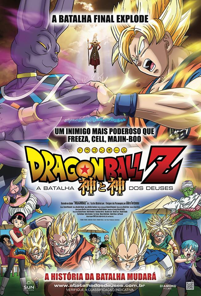 Dragon Ball Z: A Batalha dos Deuses BDRip XviD Dual Audio Dublado – Torrent