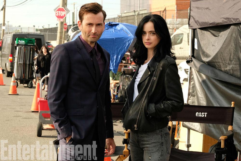 David Tennant regresará como 'Kilgrave' en Temporada 2 de Jessica Jones