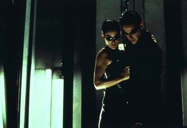 Matrix : Foto Carrie-Anne Moss, Keanu Reeves