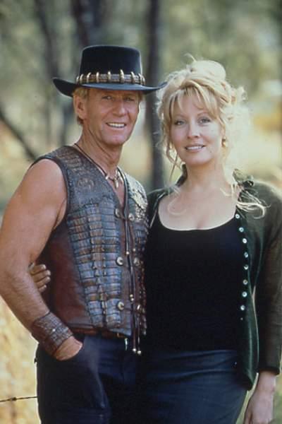 Crocodilo Dundee em Hollywood : Foto Linda Kozlowski, Paul Hogan, Simon Wincer