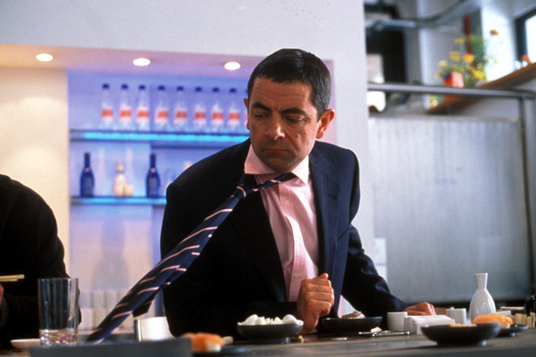 Johnny English : Foto Rowan Atkinson