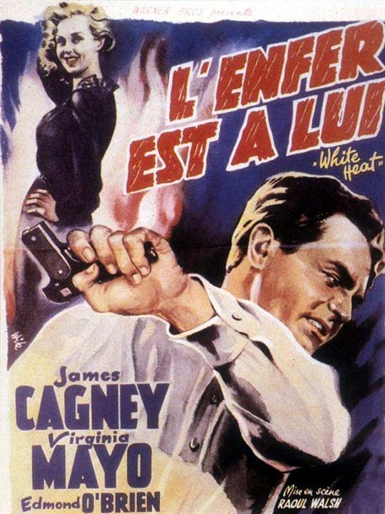 Fúria Sanguinária : Poster James Cagney, Raoul Walsh